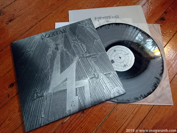 Portal: Ion LP (silver/black mix) | vinyl diaries