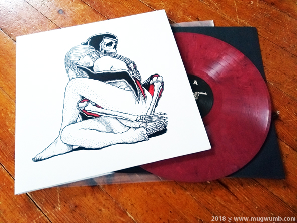 The Ugly Kings: Darkness Is My Home LP (red/black/white marbled ...