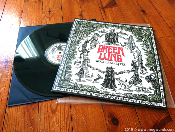 Green Lung Woodland Rites Lp Green Black Marbled